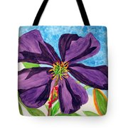 Our Very Bold Tibouchina Tote Bag