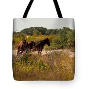 Outer Banks Horses Tote Bag