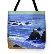 Pacific Solitude Tote Bag