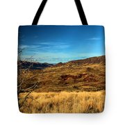 Painted Hills Landscape Tote Bag