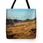 Painted Landscape Tote Bag