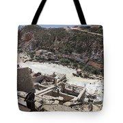 Paliorema Sulfur Mine And Processing Tote Bag