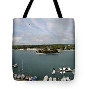 Panoramic Town 1 Tote Bag