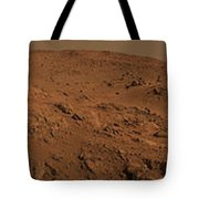 Panoramic View Of Mars Tote Bag