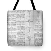 Parade For The Us Constitution Tote Bag