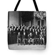 Paris Peace Conference Tote Bag