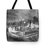 Paris: Sewers, 1869 Tote Bag
