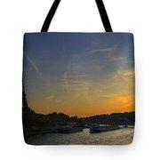 Parisian Sunset. Tote Bag