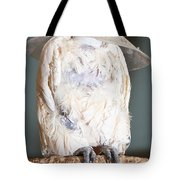 Parrot White Tote Bag
