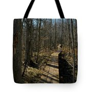 Path Into The Woods Tote Bag