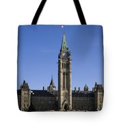 Peace Tower, Parliament Building Tote Bag