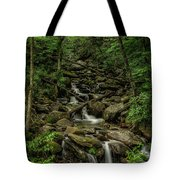 Peaceful Cascade Tote Bag