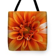 Peach Petals Tote Bag