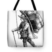 Peddler, 18th Century Tote Bag
