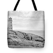 Peggy's Point Lighthouse Tote Bag
