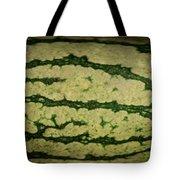 Peripheral Streak Image Of Watermelon Tote Bag