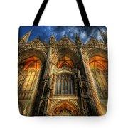 Peterborough Cathedral Tote Bag
