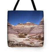 Petrified Forest Blue Mesa Tote Bag