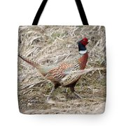 Pheasant Walking Tote Bag