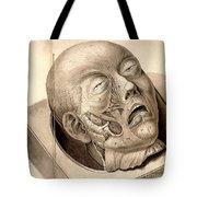 Physiognomical Illustration Of Human Tote Bag