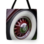 Pierce Arrow Wheel Tote Bag