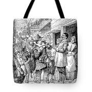 Pilgrims: Thanksgiving, 1621 Tote Bag