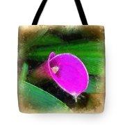 Pink Calla Tote Bag