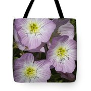 Pink Evening Primrose Wildflowers Tote Bag