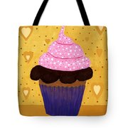 Pink Frosted Cupcake Tote Bag