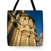 Pisa Tower And Cathedral Tote Bag