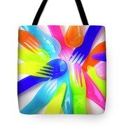 Plastic Cutlery Tote Bag