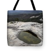 Pothole Caused By Erosion Tote Bag