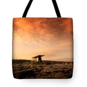 Poulnabrone Dolmen, The Burren, Co Tote Bag