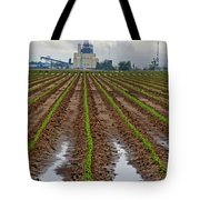 Power And Plants Tote Bag