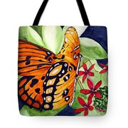 Precocious Butterfly Tote Bag