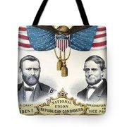 Presidential Campaign, 1868 Tote Bag