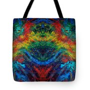 Primary Abstract IIi Design Tote Bag