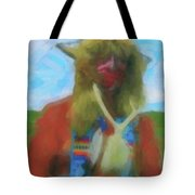 Proud Crow Warrior II Tote Bag