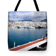 Puerto Banus In Spain Tote Bag