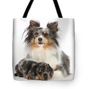 Puppy Pals Tote Bag