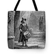 Puritan Church Drummer Tote Bag