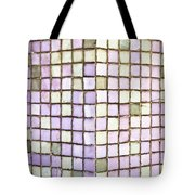 Purple Tiles Tote Bag by Tom Gowanlock