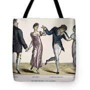 Quadrille, 1820 Tote Bag