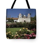 Queen Of The Spanish Missions Tote Bag