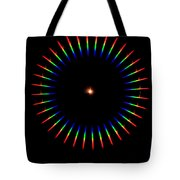 Quicklime Spectra Limelight Tote Bag by Ted Kinsman
