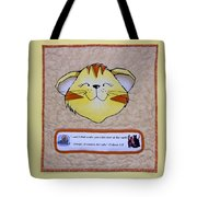 Quilted Cat  Tote Bag