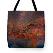 Raging Rapids Tote Bag by Empty Wall