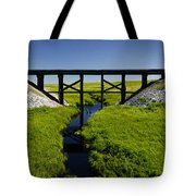 Railroad Trestle Tote Bag