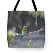 Rainbow Bee-eater V4 Tote Bag