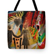 Rainy Parade  Tote Bag